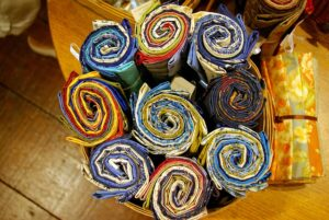Multi coloured Jelly Rolls