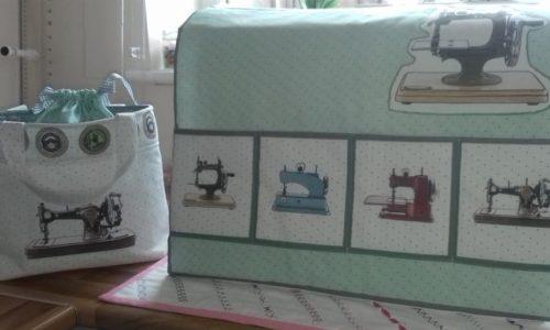 Maureen K Sewing Machine Cover Set